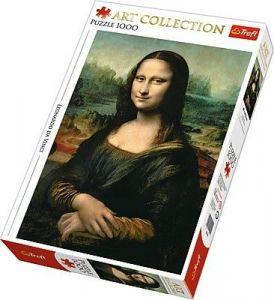 TREFL  Puzzle  1000 dílků  - Mona Lisa   10542