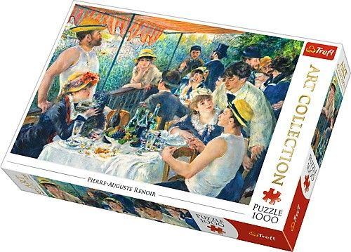 TREFL Puzzle 1000 dílků Renoir - Snídaně veslařů 10499