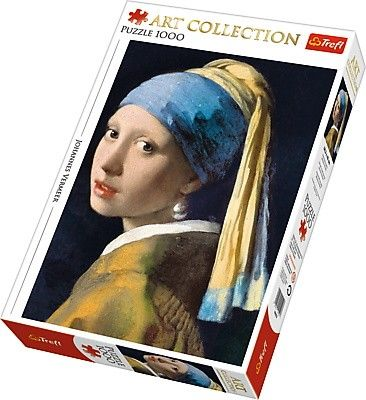TREFL Puzzle 1000 dílků Vermeer - Dívka s perlou 10522
