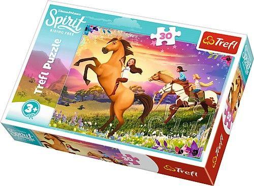 Trefl puzzle 30 dílků - Spirit - duch svobody 18250