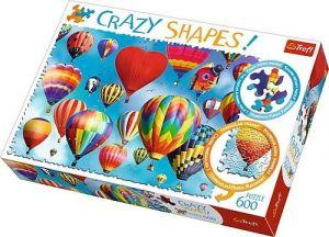 Trefl puzzle 600 dílků  Crazy Shapes - Balóny  11112