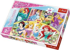 Trefl Puzzle Maxi 24 dílků - Princezny - magie vzpomínek 14294
