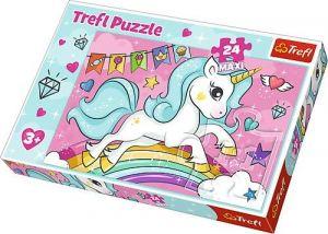 Trefl Puzzle Maxi 24 dílků - Sladký jednorožec  14302