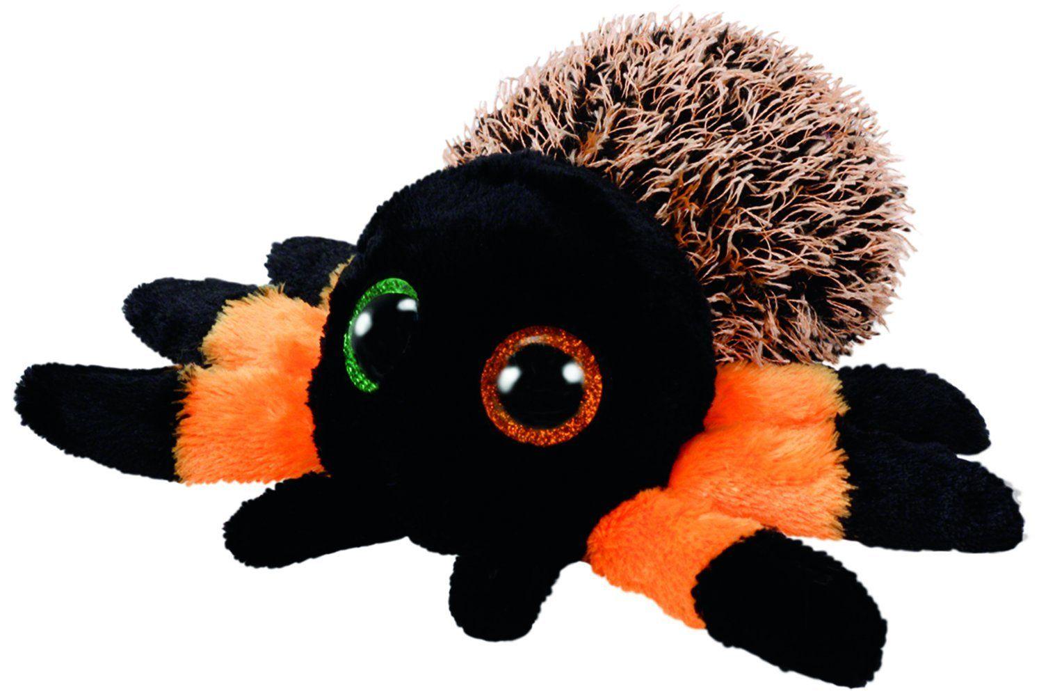 TY Beanie Boos - Hairy - oranžový pavouk 36855 - 15 cm plyšák TY Inc. ( Meteor )