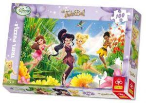 100 dílků - Víly - Disney -  puzzle   Trefl