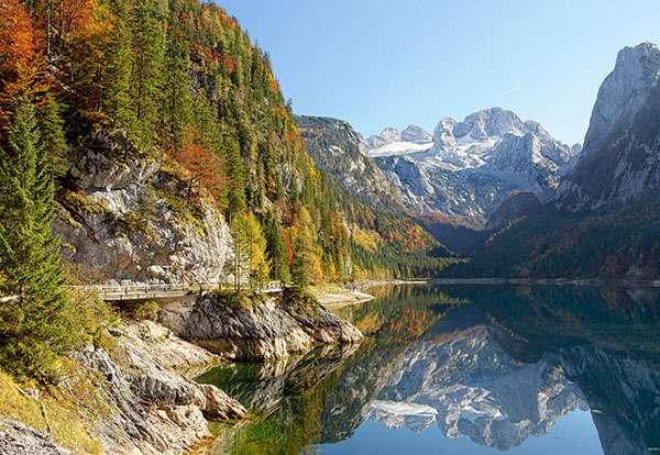 Castorland - Jezero Gosausee - Rakousko - Puzzle 2000 dílků art. 200368