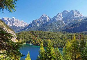 Castorland - Alpské jezero - Puzzle 3000 dílků