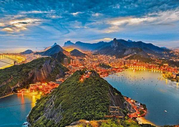 1000 dílků Rio de Janeiro - puzzle Ravensburger 190522