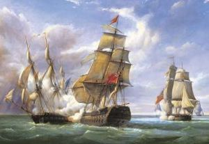 Castorland - Námořní bitva  - Puzzle 3000 dílků