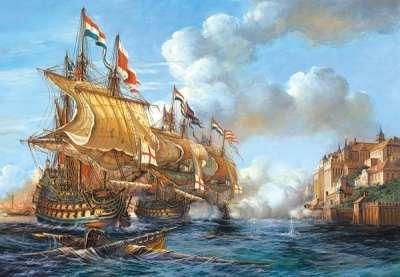 Castorland - Námořní bitva - Puzzle 2000 dílků 200245