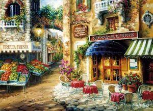 Puzzle Clementoni 3000 dílků  - Buon appetito  - Dobrou chuť