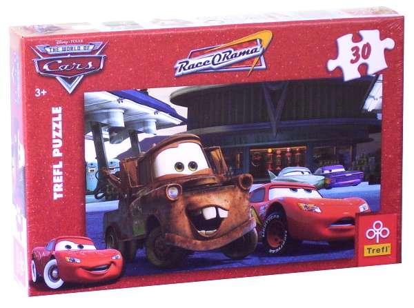 30 dílků - Cars - puzzle Trefl 18137
