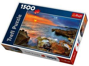 1500 dílků  Pobřeží Španělska  - puzzle Trefl
