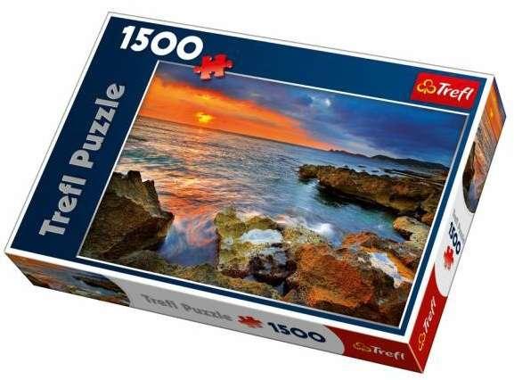 1500 dílků Pobřeží Španělska - puzzle Trefl 26110