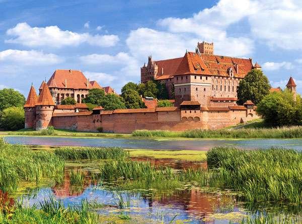 Castorland - Hrad Malbork - Polsko - Puzzle 3000 dílků art. 300211