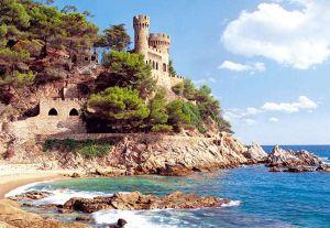 Castorland - Lloret de Mar - Španělsko - Puzzle 1000 dílků