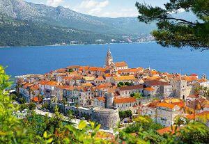 Castorland - Korčula - Chorvatsko - Puzzle 3000 dílků