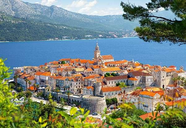 Castorland - Korčula - Chorvatsko - Puzzle 3000 dílků art. 300266