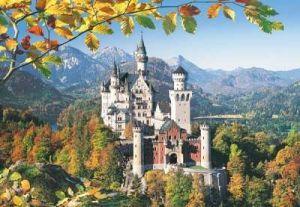 Castorland - Zámek Neuschwanstein - Puzzle 3000 dílků 300013