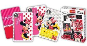 Minnie  Mouse - karty Černý Petr - TREFL