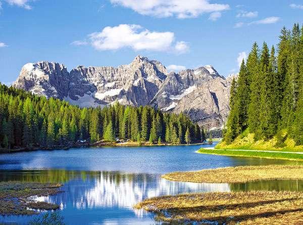 Castorland - Itálie - Jezero Missurina - Puzzle 3000 dílků 300198