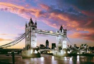 Castorland - Tower Bridge  - Londýn - Puzzle 1000 dílků