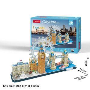 3D puzzle CubicFun CityLine - Londýn  107  dílků