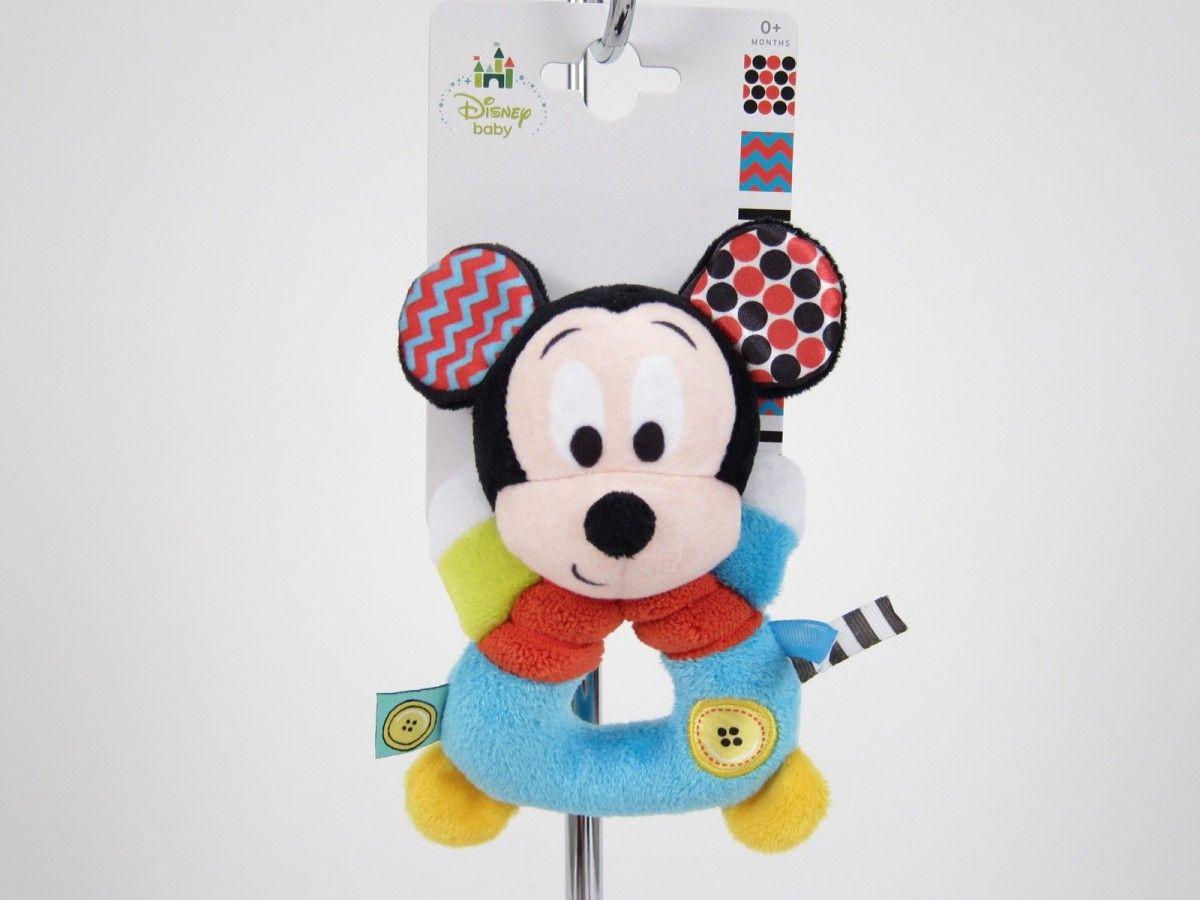 Chrastítko plyš - Mickey Mouse TM Toys