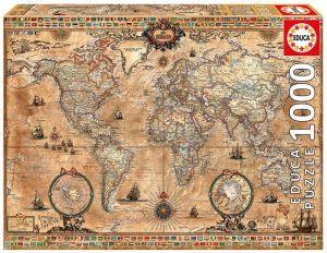 EDUCA Puzzle 1000 dílků - Antická mapa  15159