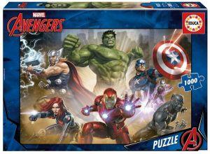 EDUCA Puzzle 1000 dílků - Avengers  17694