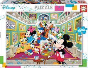 EDUCA Puzzle 1000 dílků - Galerie umění - Mickey 17695