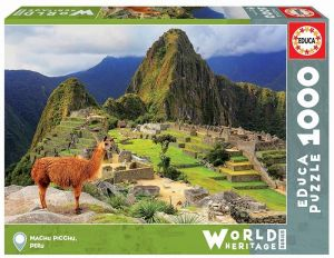 EDUCA Puzzle 1000 dílků - Machu Picchu 17999
