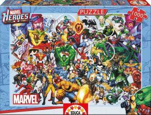 EDUCA Puzzle 1000 dílků - Osud hrdinů 15193