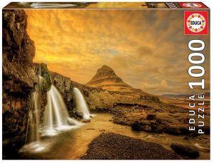 EDUCA Puzzle 1000 dílků -  Vodopády Kirkjufellsfoss  Island   17971