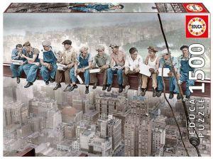 EDUCA Puzzle 1500 dílků  Svačina v New Yorku 16009