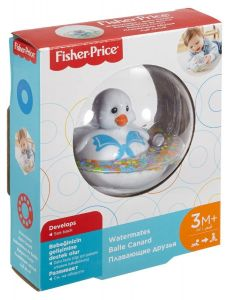 Fisher-Price Kačenka v kouli bílá Fisher Price