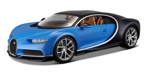 Maisto  1:24 Bugatti Chiron - modro černá  barva
