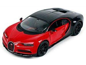 Maisto  1:24 Bugatti Chiron Sport - červeno černá  barva