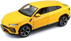 Maisto  1:24 Lamborghini Urus - žlutá barva