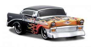 Maisto Roborods  ( transformér )  - Chevy BelAir  černá barva