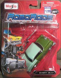 Maisto Roborods  ( transformér )  - Chevy BelAir  zelená barva