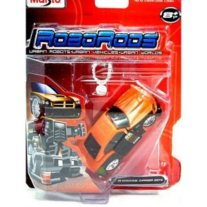 Maisto Roborods  ( transformér )  - Dodge  Charger  SRT8 - oranžová barva