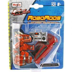 Maisto Roborods ( transformér ) - Dodge Magnum červená barva