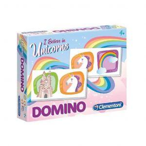 Obrázkové domino Clementoni   - Jednorožec  18033