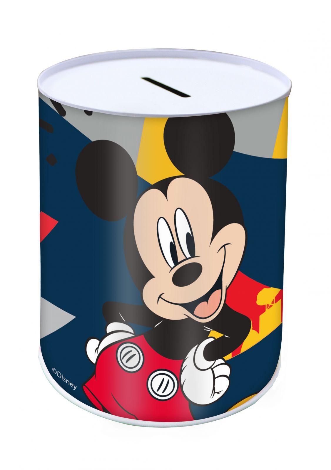 Pokladnička plechovka 10 x 15 cm - Mickey Mouse Diakakis