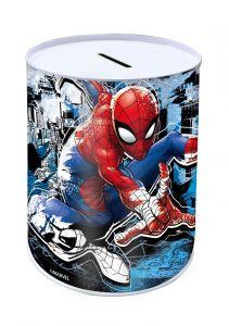 Pokladnička plechovka  10 x 15 cm  -  Spiderman