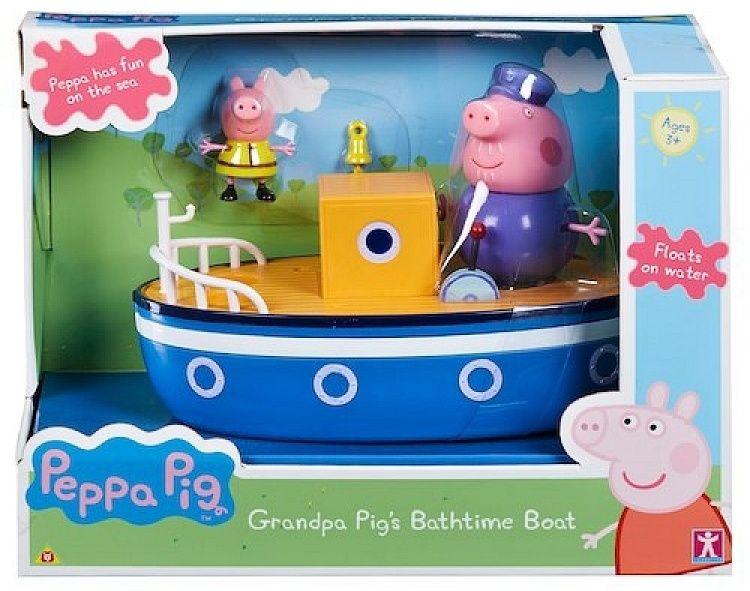 Prasátko PEPPA - loď - parník