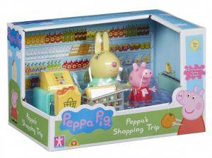 Prasátko PEPPA - Peppa v obchodě  06952