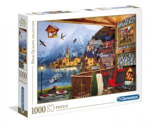 Puzzle Clementoni 1000 dílků - Hallstatt  39481