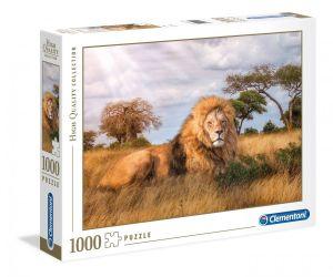 Puzzle Clementoni 1000 dílků - Lev  39479